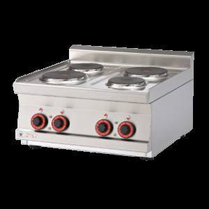 Desco/Italy Counter Top Electric Hot Plates - 4-0