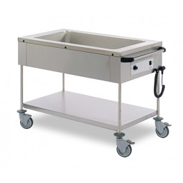 BOURGEAT Mobile bain-marie - Model with 1 tank for 3GN1/1 (872003)-0